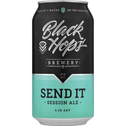 Photo of Black Hops Send It Session Ale Cans