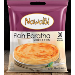 Photo of Nawabi Paratha - Plain 30 Pcs