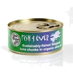 Photo of Fish 4 Ever - Skipjack Tuna Chunks In Olive Oil - 160g