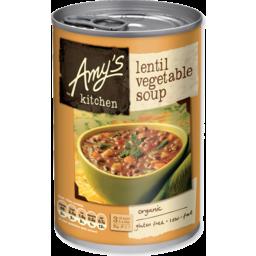 Photo of Amy's Kitchen Soup - Lentil & Vegetable