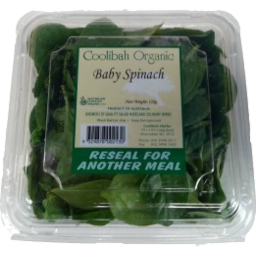 Photo of Coolibah Organic Baby Spinach 120gm
