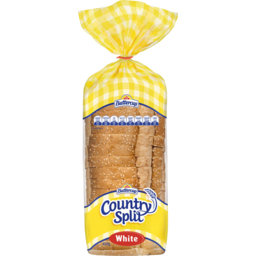 Photo of Buttercup Country Split White Sliced Bread 450g
