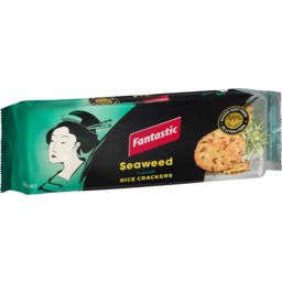 Photo of Fantastic Rice Crackers Seaweed 100g