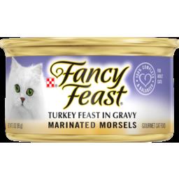 Photo of Fancy Feast Cat Food Marinated Turkey 85g