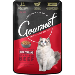 Photo of Gourmet Cat Nz Grass Fed Beef 85g