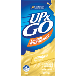 Photo of Sanitarium Liquid Breakfast Up & Go Banana 350ml