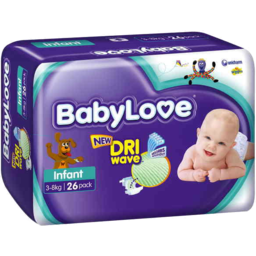 Photo of Babylove Handy Pack Infant 26