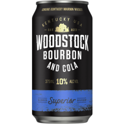 Photo of Woodstock&Cola 10% Can 375ml