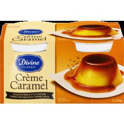Photo of Divine Classic Creme Caramel 2x150g