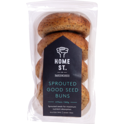 Photo of Home St Sprouted Seed Bun 4 Pack