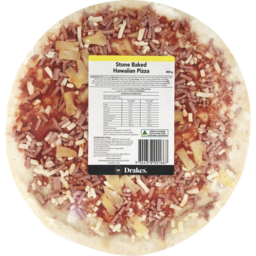 Photo of Drakes Stone Baked Hawaiian Pizza 400g