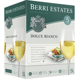 Photo of Berri Estates Dolce Bianco