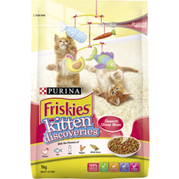 Photo of Purina Friskies Kitten Discoveries1kg