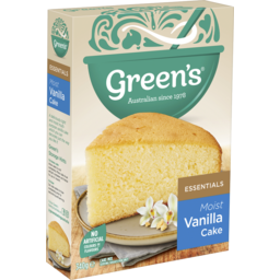Photo of Green's Essentials Vanilla Cake Mix 340g