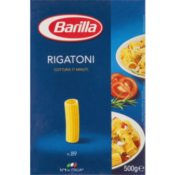 Photo of Barilla Rigatoni No.89 500gm
