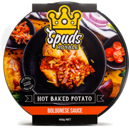 Photo of Spuds Royale Bolognese 450gm