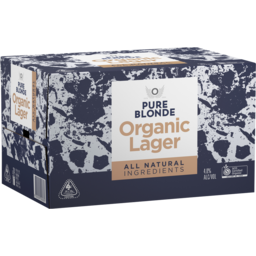 Photo of Pure Blonde Organic Lager Natural Ingredients 330ml 24 Pack