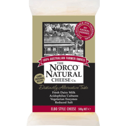 Photo of Norco Natural Elbo Cheese 500g