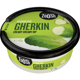 Photo of Zoosh Geeking Out Gherkin Creamy Dreamy Dip 185g