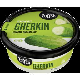 Photo of Zoosh Dip Gherkin 185gm