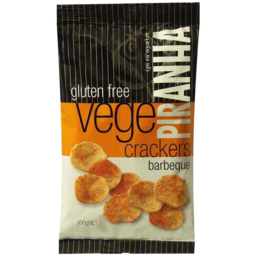 Photo of Piranha BBQ Vege Crackers 100gm