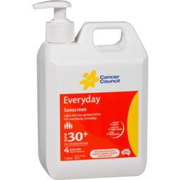 Photo of Cancer Council Everyday Sunscreen Spf 30+ 1l Pump