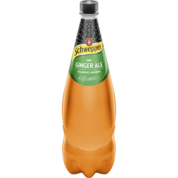 Photo of Schweppes Dry Ginger Ale 1.1l