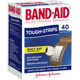 Photo of Band-Aid Brand Tough Strips 40 Pack