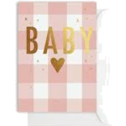 Photo of Elm Gingham Baby Pink $6.50