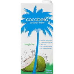 Photo of Cocobella Coconut Water Straight Up 1l