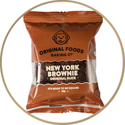 Photo of Original Foods Slice New York Brownie 75g