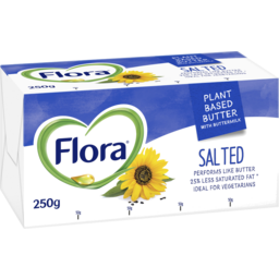 Photo of Flora Plant Based Butter Salted 250g