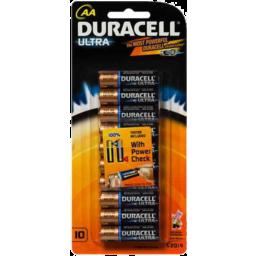 Photo of Duracell Battery Ultra Aa 10pk