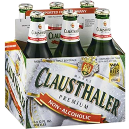 Photo of Clausthaler Alc Free Beer Slab