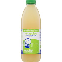 Photo of Nudie Nothing But Cloudy Apple Juice 1l