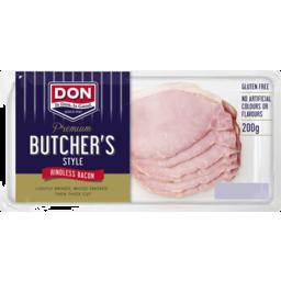 Photo of Don® Premium Butcher's Style Bacon 200g
