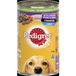 Photo of Pedigree Casserole With Chicken & Gravy 1.2kg