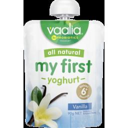 Photo of Vaalia My First Yoghurt Vanilla 90g