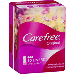 Photo of Carefree Liners Unscented 30s