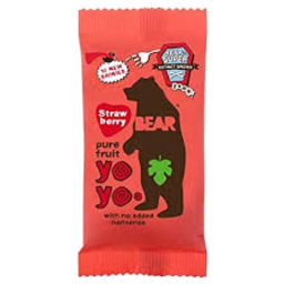 Photo of Bear Nibble Strawberry Fruit Roll 20g