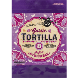 Photo of Community Co Garlic Tortilla 365g
