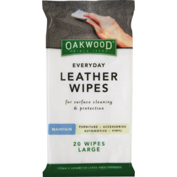 Photo of Oakwd Wipes Leather 20s