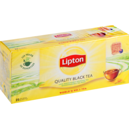 Photo of Lipton Quality Black Tea Bag 25s 50g