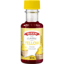 Photo of Queen Food Colouring Yelow (50ml)
