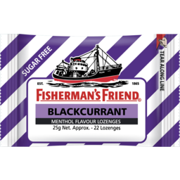 Photo of Fisherman's Friend Blackcurrant Sugar Free 25g
