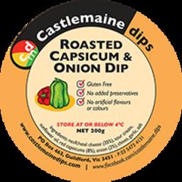 Photo of Castlemaine Dip Roast Capsicum & Onion 200gm
