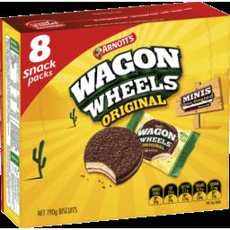 Photo of Arnott's Wagon Wheels Mini 190g