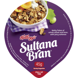 Photo of Kelloggs Sultana Bran Bowl 45g