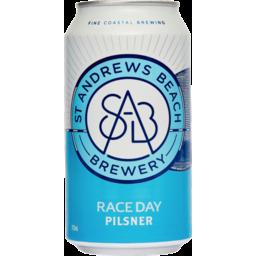 Photo of St Andrews Beach Brewery Raceday Pilsner 375ml Slab