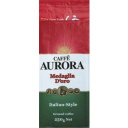 Photo of Caffé Aurora Italian Style Ground Coffee 250g